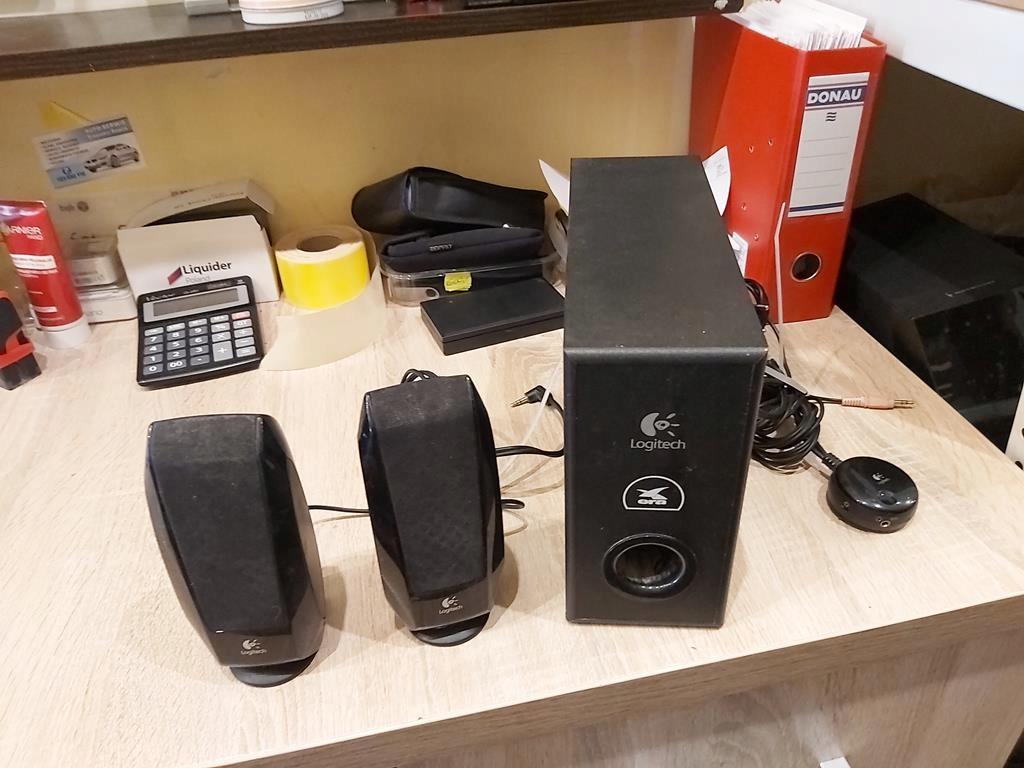 Głośniki komputerowe Logitech 2.1 S220