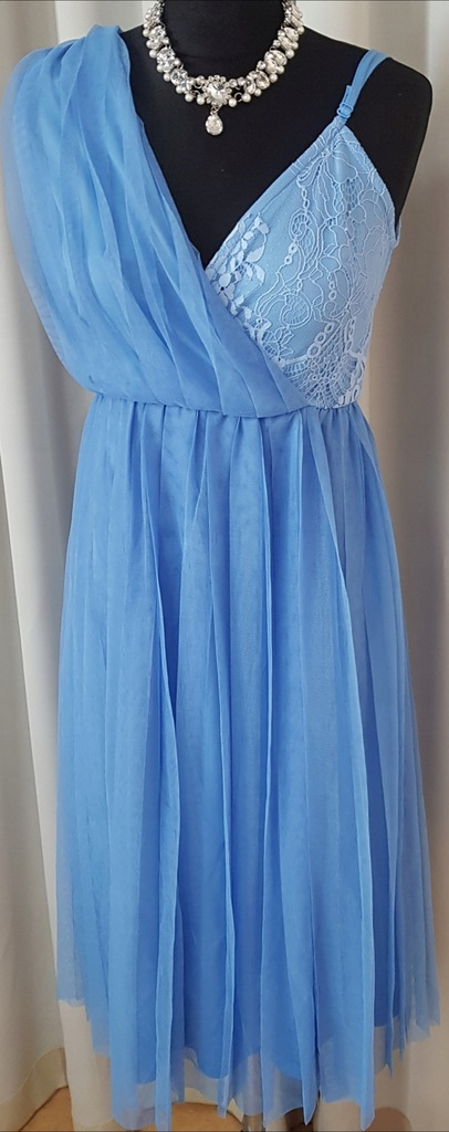 Sukienka plisowana ASOS 40 L NOWA mega modna