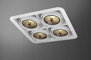 Lampa AQForm iFORM SQ alu 31415-0000-T8-PH-01
