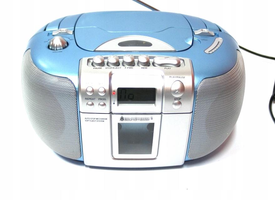 Boombox Radio odtwarzacz FM TAPE