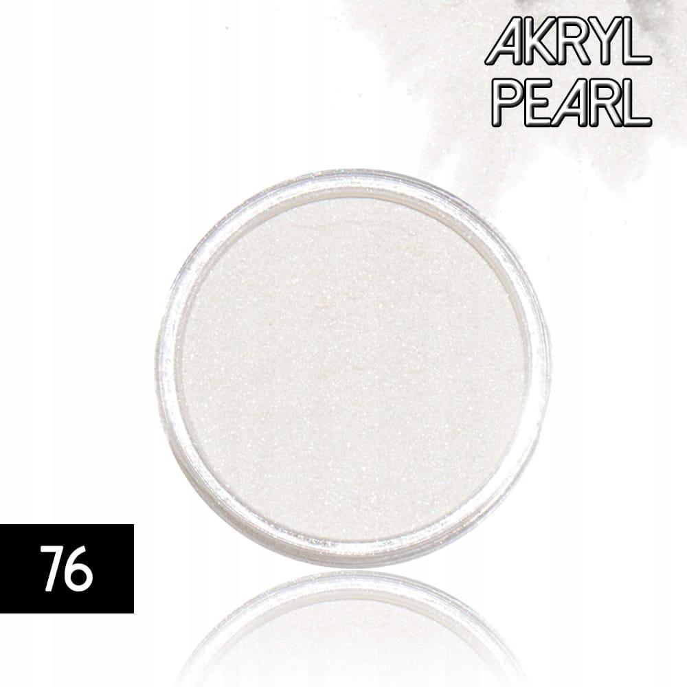Akryl 76 kolorowy proszek akrylowy 4g do zdobień