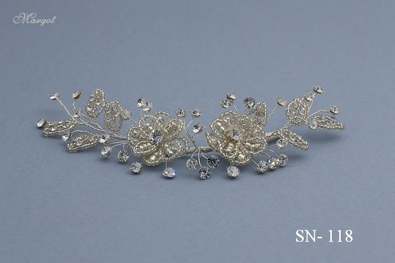 Stroik ślubny SN118 - fryzury ślubnej, głowę