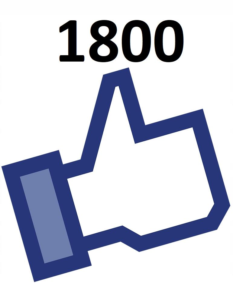 Fanpage 1800 polubień tematyka Sport Football
