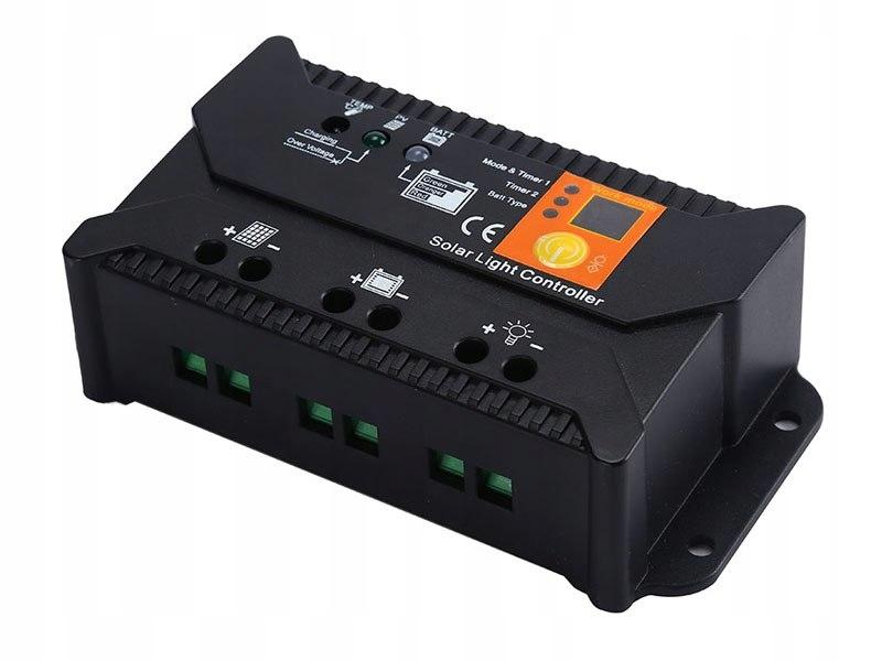 Solarny regulator ładowania PWM SOL-10S 12/24 - 10