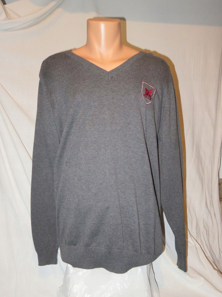 SWETER SZARY PERFORMA COTTON XL