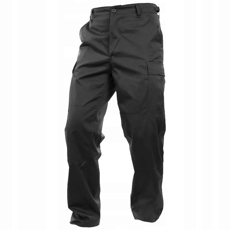Spodnie wojskowe Mil-Tec BDU Black L