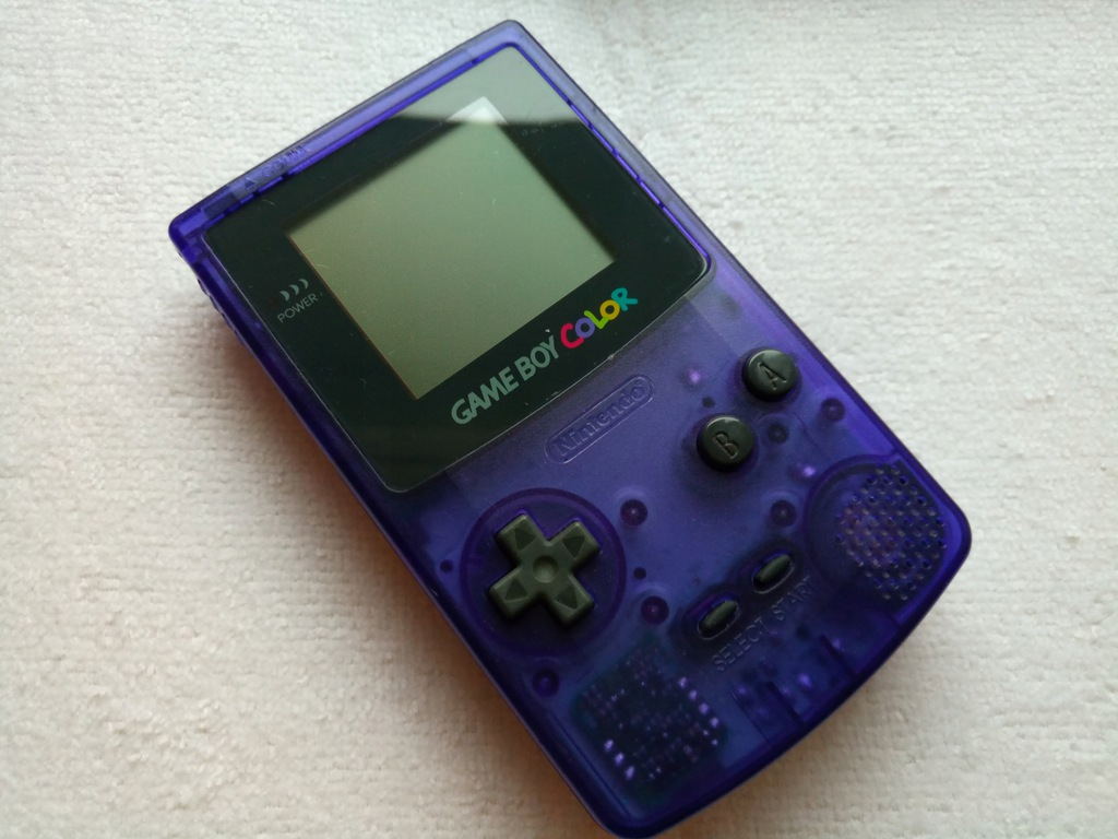 Nintendo Game Boy Color Midnight Blue