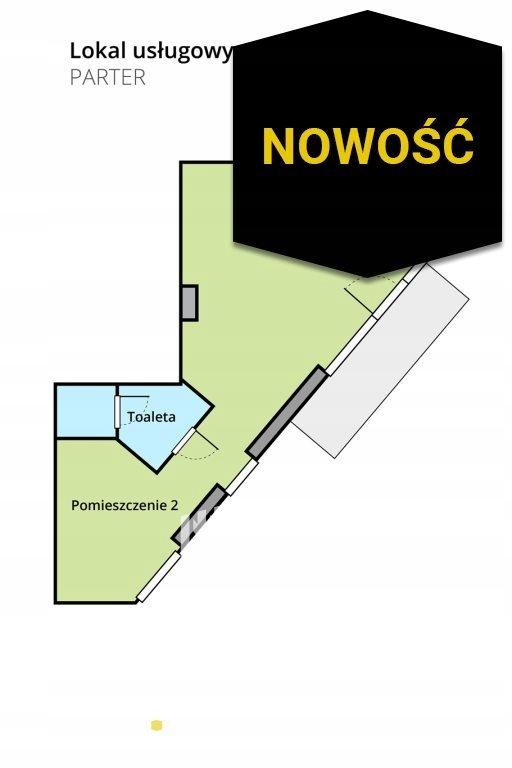 Biuro, Wrocław, Psie Pole, Zakrzów, 49 m²