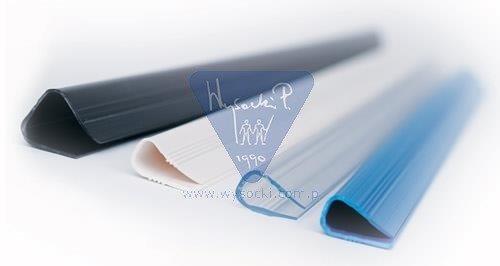 Listwy wsuwane Relido 3-6 mm biały Fellowes