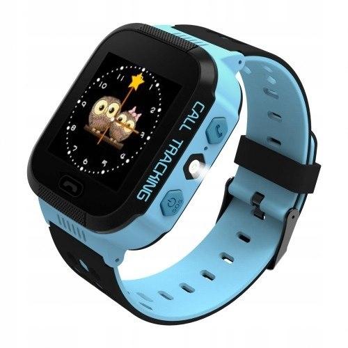 ART Watch Phone Go z lokalizatorem GPS niebieski