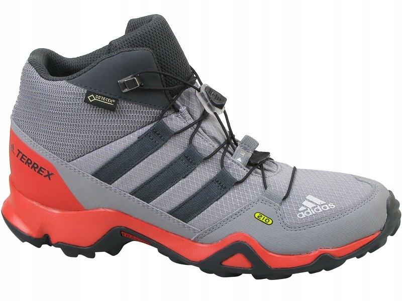Buty adidas Terrex Mid Gtx K GORE TEX CM7711 GrethrGrethrCarbon