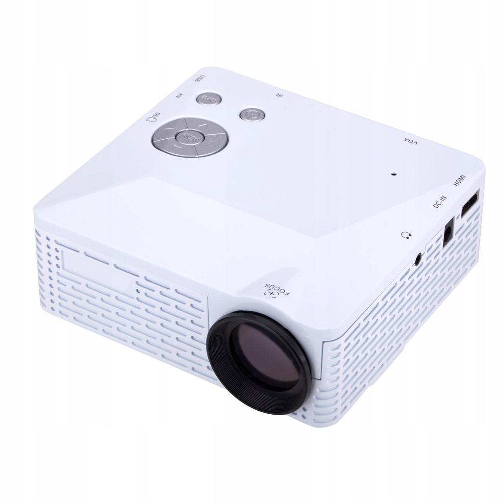 U18 Przenośny projektor LED Mini HD HD Kino domowe