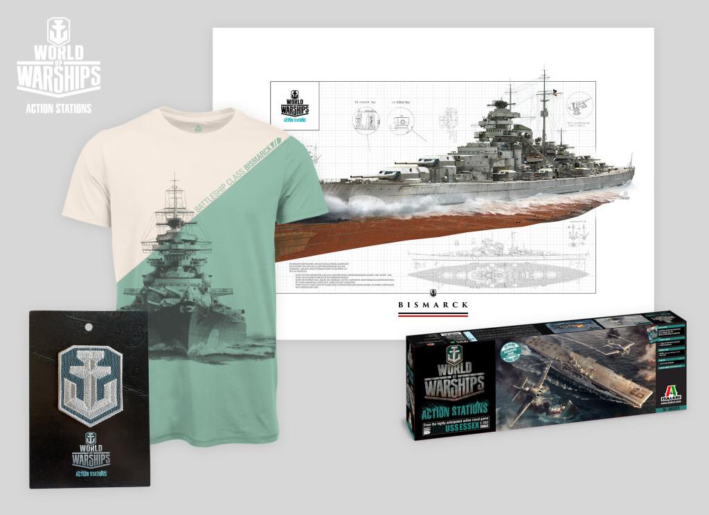 World of Warships - okręty premium i gadżety!
