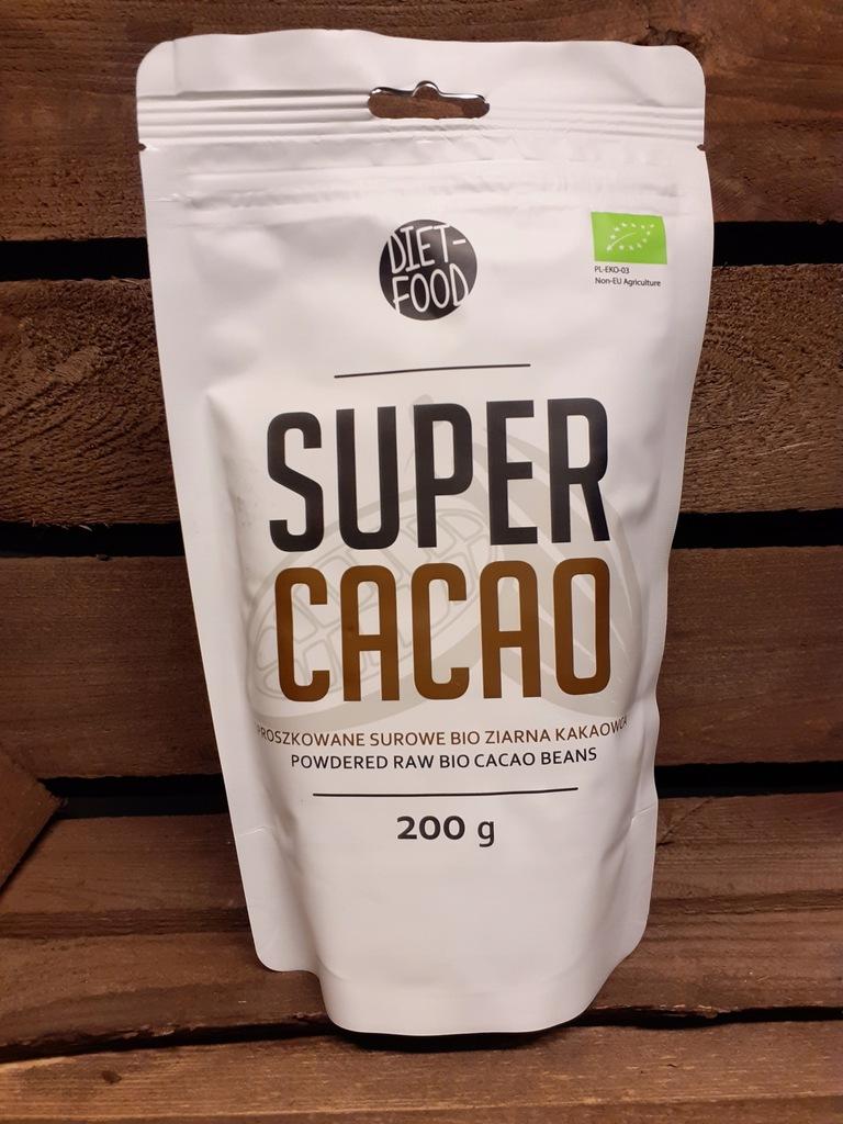 Surowe ziarno kakaowca (puder) 200g