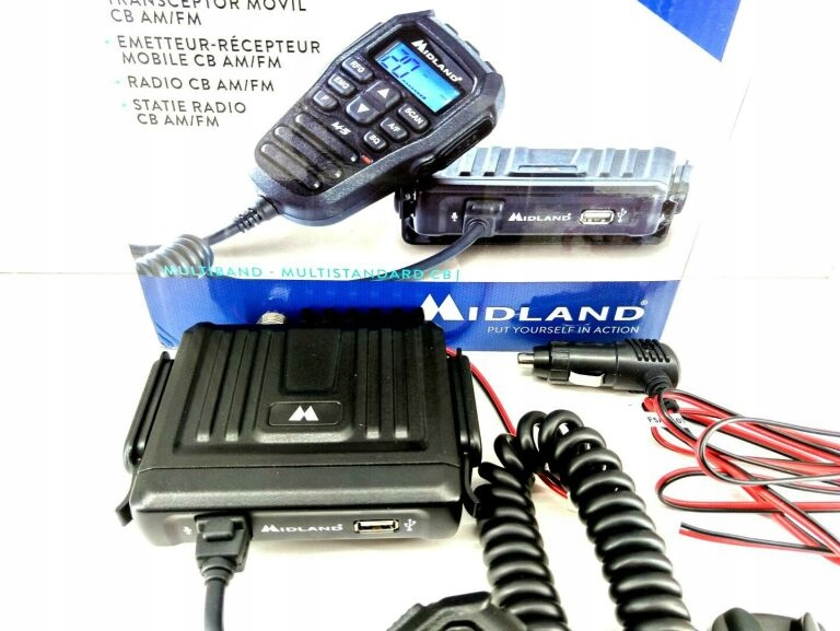CB RADIO MIDLAND M-5 GWARANCJA DO 06.11.2021