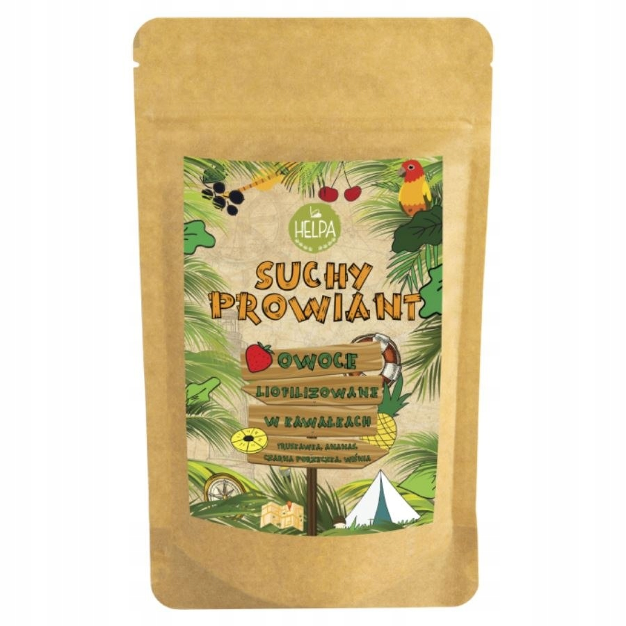 Owoce liofilizowane Suchy Prowiant - mix z ananase