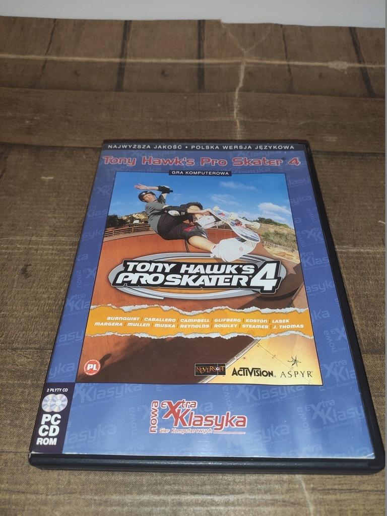 TONY HAWK PRO SKATER 4 PROSKATER 4 3xCD GRATIS PL