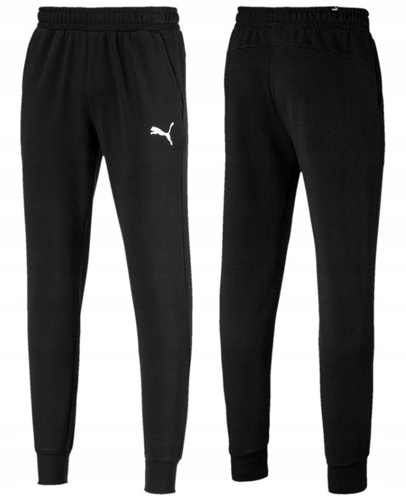 Spodnie Dresowe Męskie PUMA Bawełniane Zwężane L