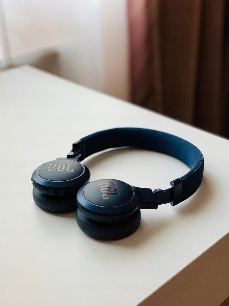 Słuchawki bezprzewodowe JBL Live 400BT Blue