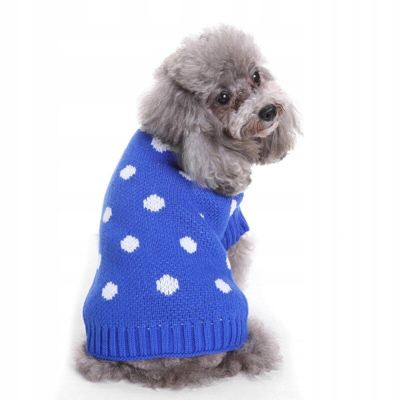 Sweter Ubranko Sweterek Psa Kota Niebieski M 8738656654 Oficjalne Archiwum Allegro