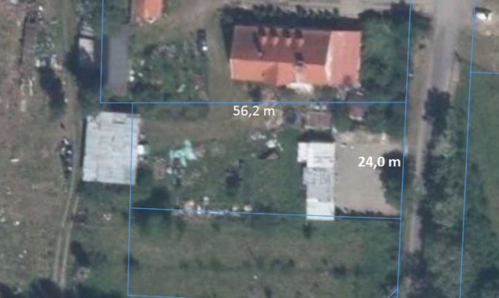 Działka, Raszowa, Lubin (gm.), 1271 m²