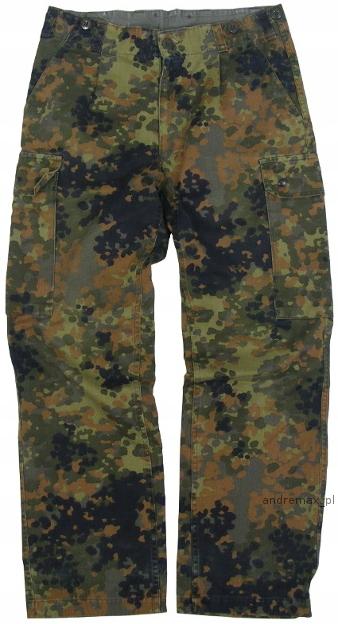 Spodnie Wojskowe BW Flecktarn NR.4 KONTRAKTOWE