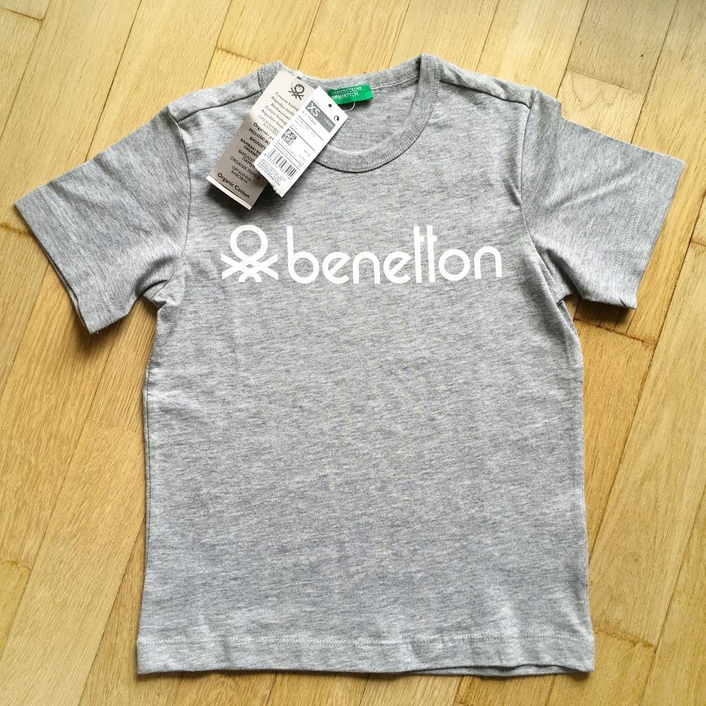 T-shirt koszulka Benetton rozm. 110
