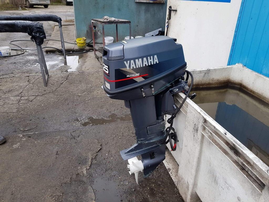 Silnik Zaburtowy Yamaha 25km Krotka Stopa Dwusuw 7914088804 Oficjalne Archiwum Allegro