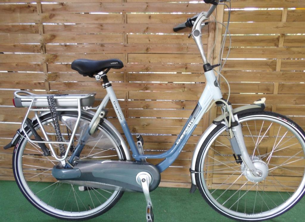 Rower elektryczny Gazelle Orange Plus.D 57. I inne
