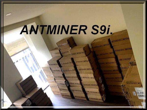 Antminer S9i , NOWY, PROMOCJA.