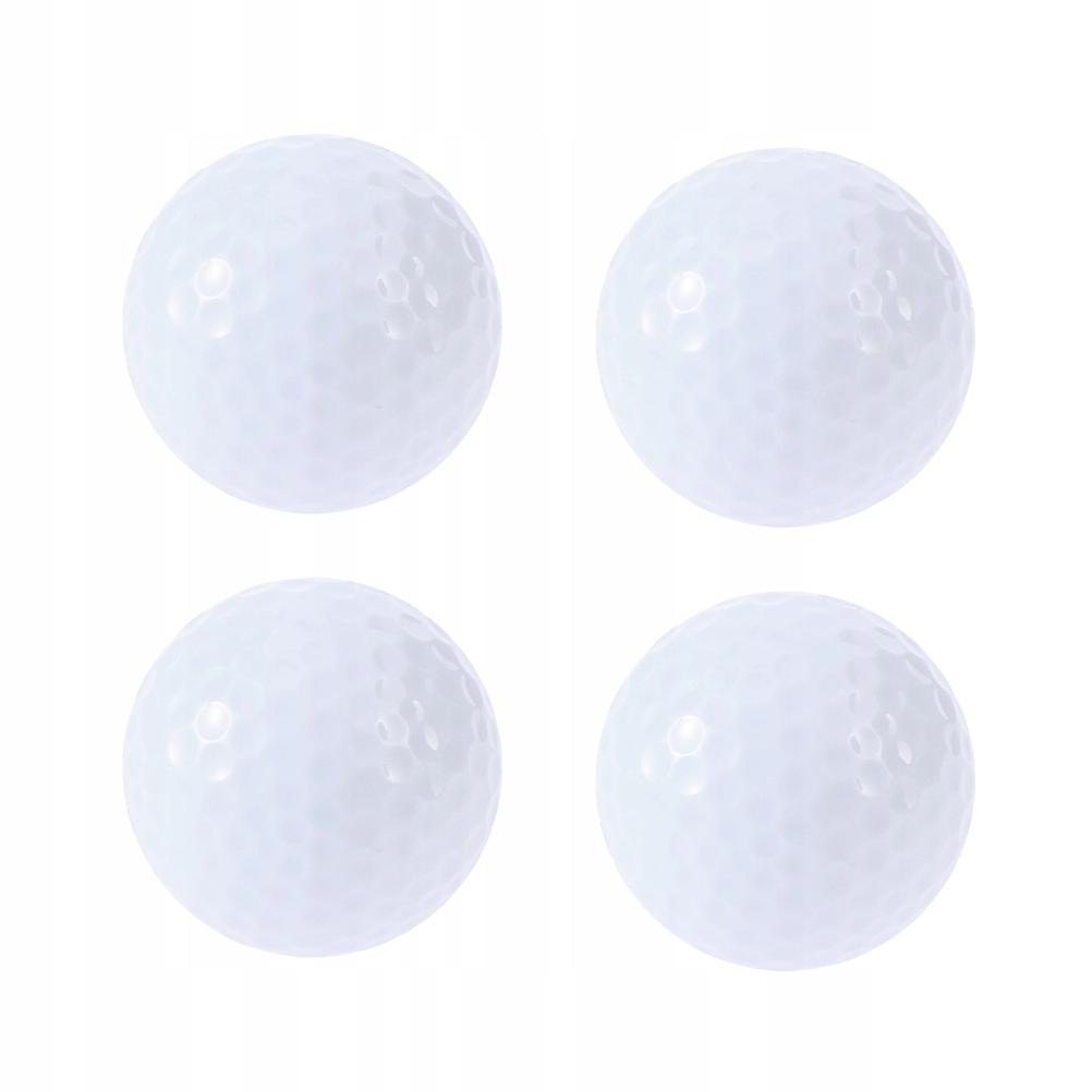 4 sztuki Migająca świecąca piłka golfowa Nocna poś