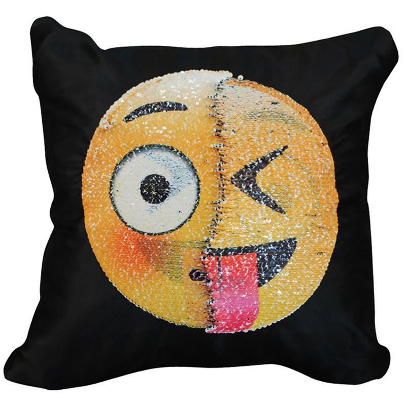 Poszewka Poduszka Emotka Emoji Zmieniajaca Cekiny 7080549036 Oficjalne Archiwum Allegro