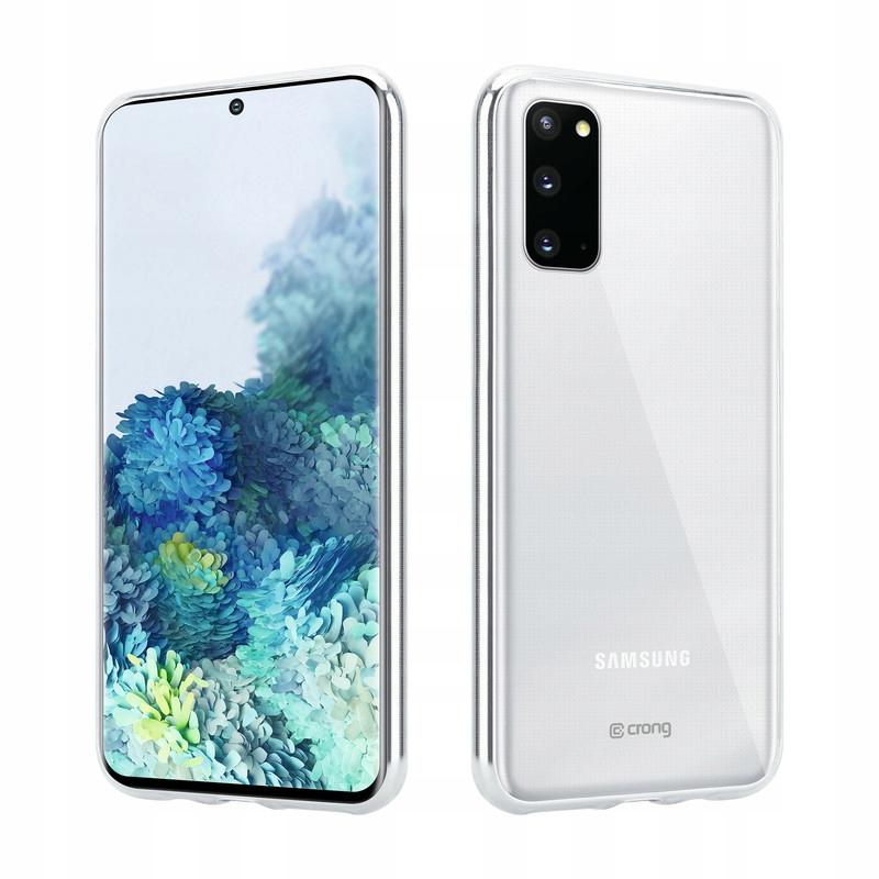 Crong Crystal Slim Cover - Etui Samsung Galaxy S20