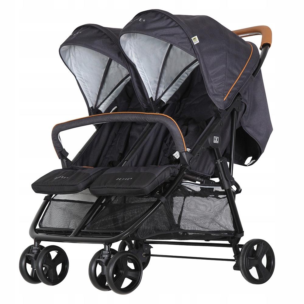 Wózek dla rodzeństwa bliźniaczy Jette-Joop