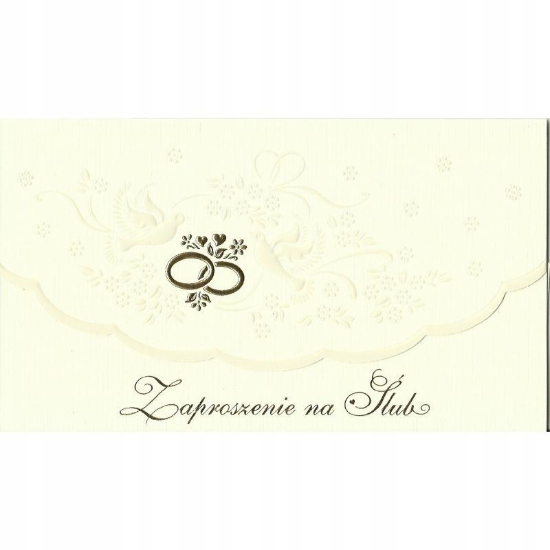 Zaproszenie na Ślub Ś17