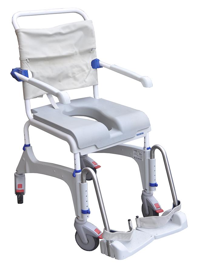 Krzesło wózek TOALETOWE SEDESOWE sanitarne WC 7383962554