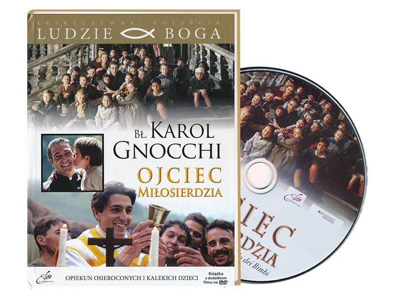 Bł. Karol Gnocchi. Ojciec miłosierdzia. Film DVD