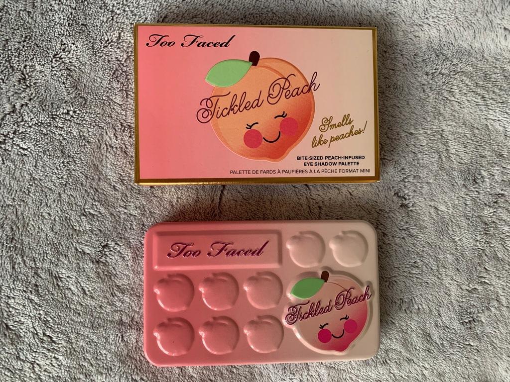 Too Faced Tickled Peach Paleta Cieni 7772294676 Oficjalne Archiwum Allegro