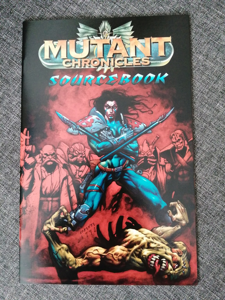 Mutant Chronicles Sourcebook #1