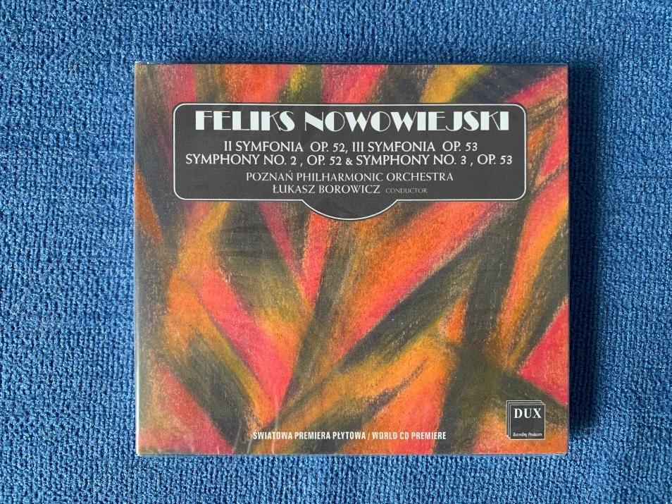 Płyta Feliks Nowowiejski Symfonie