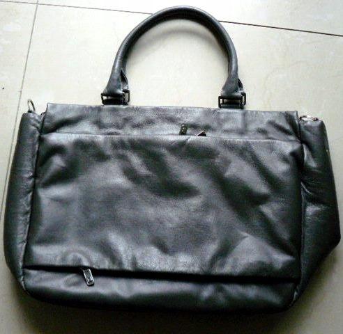 BREE torebka biznesowa grey skóra naturalna luksus