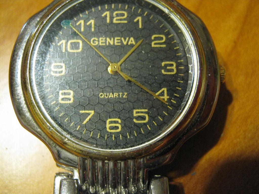 Zegarek kwarcowy Geneva niespr.