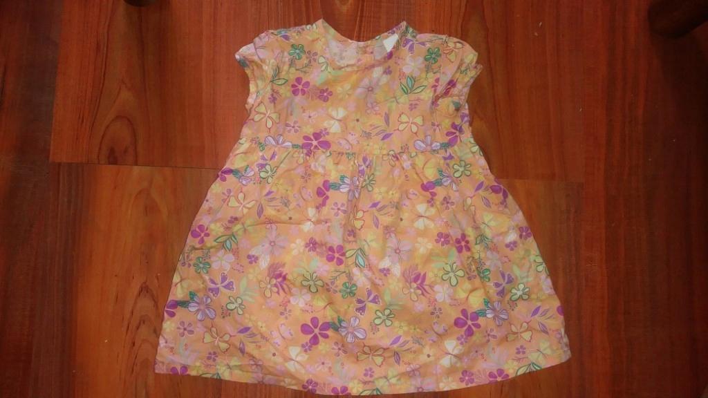 C&a sukienka w kwiatuszki 74