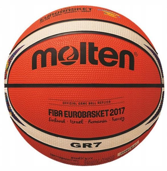 Piłka do koszykówki Molten BGR7 Eurobasket 2017