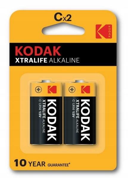 bateria LR14 / C KODAK XTRALIFE Alkaline - 2 szt.