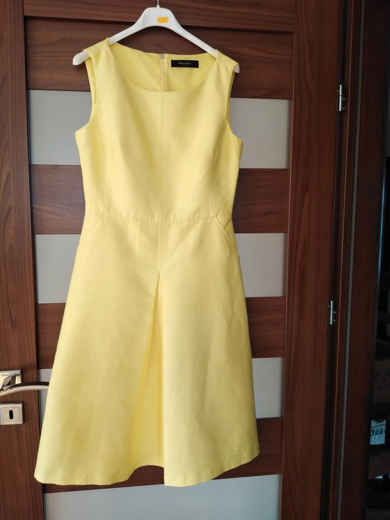 Paka 36,sukienka Reserved 36+kurtka dżins esprit