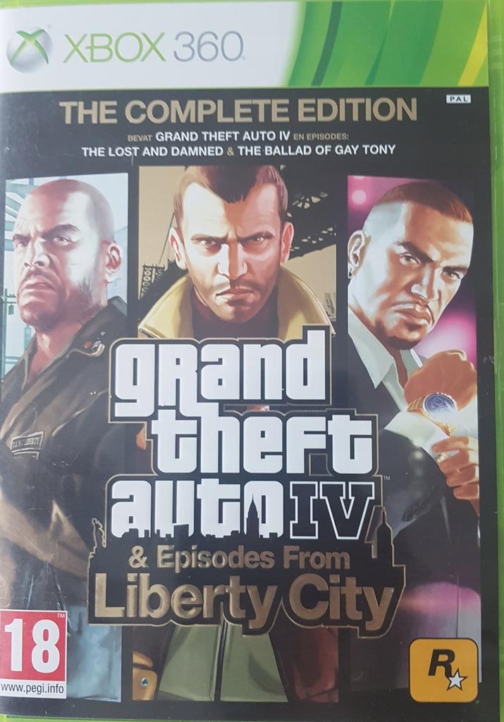 Gta Iv Complete Edition Xbox 360 7811590072 Oficjalne Archiwum Allegro
