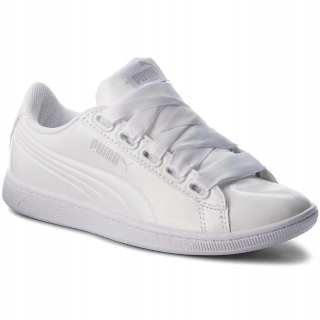 Puma damskie buty Vikky Ribbon P White 37
