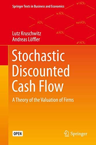 Kruschwitz, Lutz - Stochastic Discounted Cash Flow