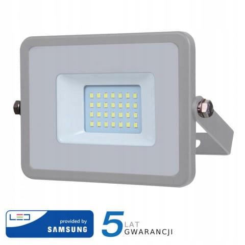 Projektor LED 20W 1600lm 3000K Dioda SAMSUNG Szary